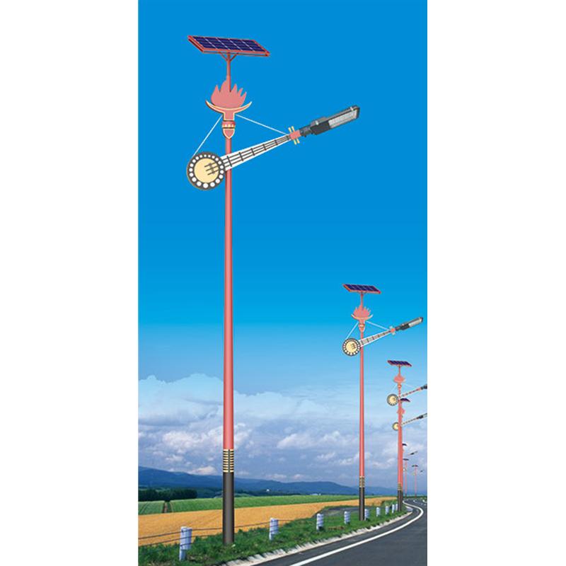民族特色太阳能路灯003