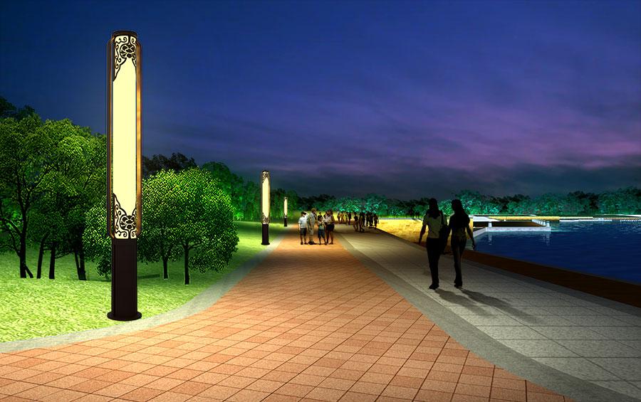 富贵锦绣景观灯